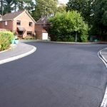 Driveway surfacing in Frimley