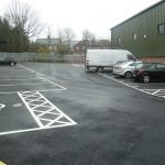 Line marking services in Filton