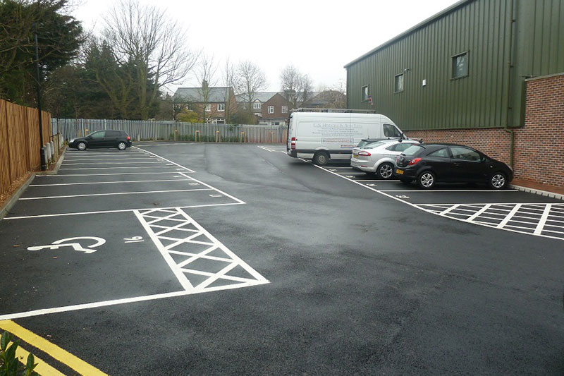 Line marking services in Esher