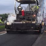 Calne road surfacing