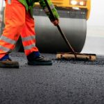 road surfacing in Romsey